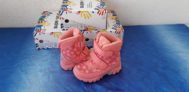 Зимние термо ботинки Supergear