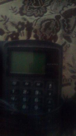 Телефон стационарный с радиотелефоном алкатель