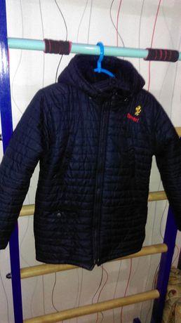Куртка зимняя 7-9 лет