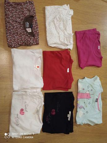 Koszulki długi rękaw 92-98 cm