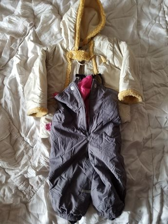 Штаны-комбинезон и курточка на девочку, 92