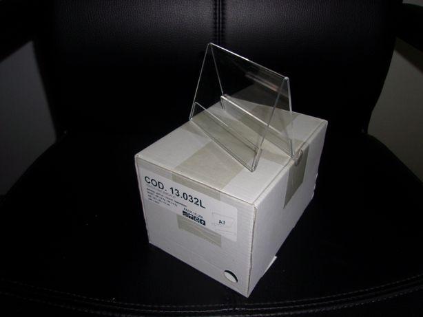 Suporte em Acrílico (caixa 10 unidades) 110mm x 80mm
