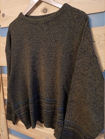 Angelo Litrico 2 sweter wełniany vintage retro