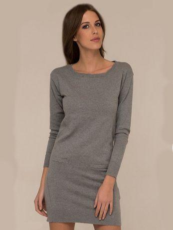 Базовое платье свитер 10 проц ангора.