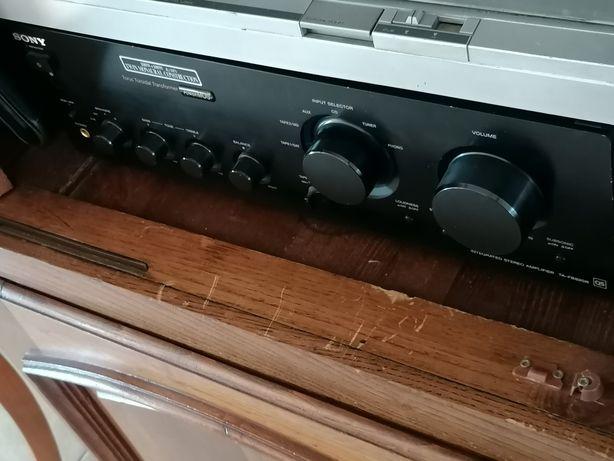 Sistema Som Sony + Bose! Amplificador + 4 Colunas!