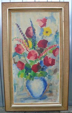 Obraz olejny Kwiaty Eugen Persson
