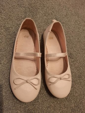 Buty baleriny dziewczęce H&M roz.32