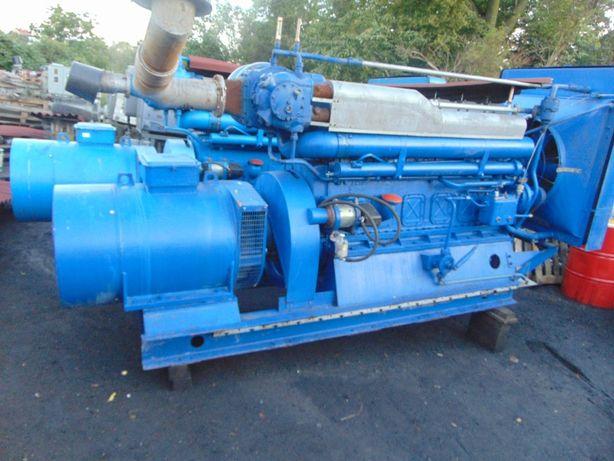 Agregat prądotwórczy 160 170 kw 200 230 kva fabr przebieg 22 godziny