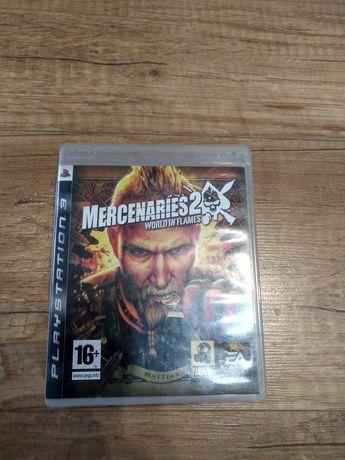 Sprzedam grę mercenaries 2 na PS3 lub zamiana