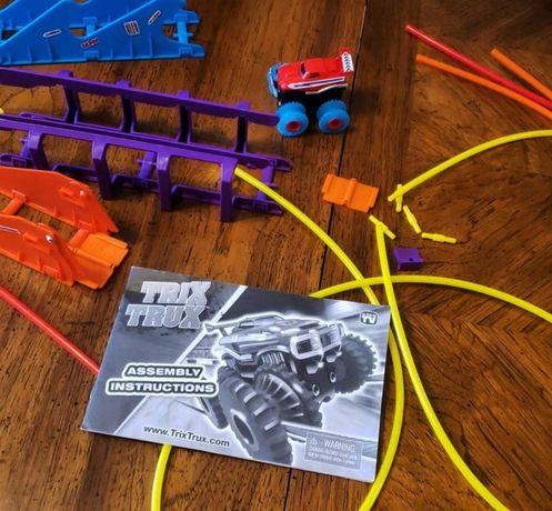 Трикс Тракс Игровой набор Trix Trux Monster Канатный детский трек