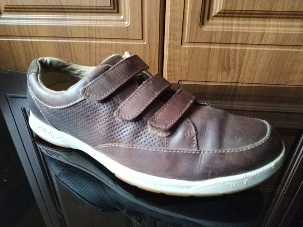 Кожаные кроссовки Clarks 46 - 47 ecco camper timberland оригинал туфли
