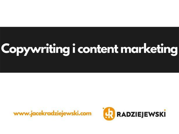 Copywriting i content marketing — Twój nowy copywriter zaprasza