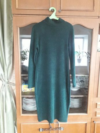 Женское теплое платье, ангора