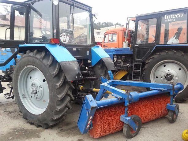 Аренда трактора с навесным оборудованием, грунтофреза