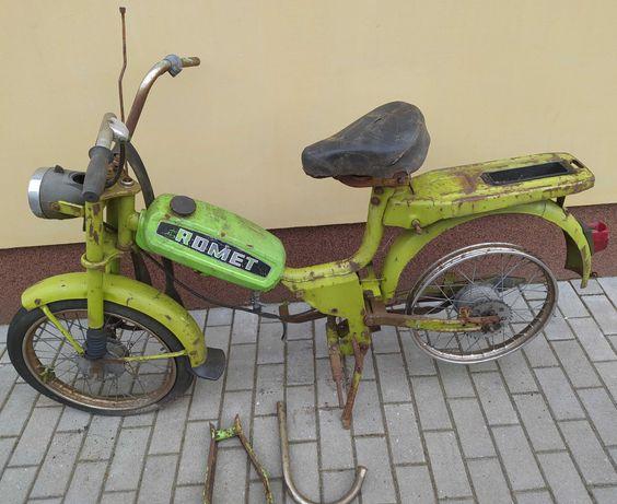 Stare części motor Komar Romet