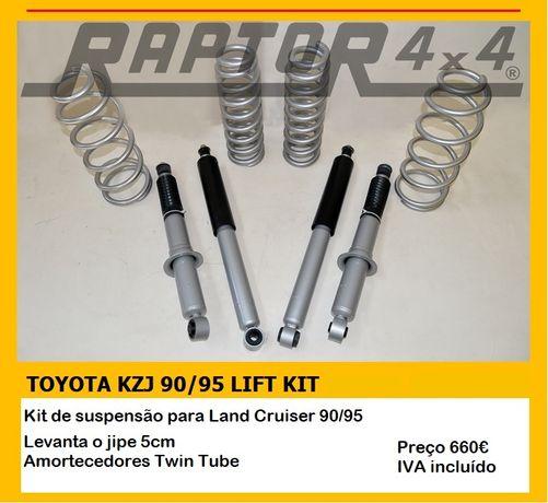 Kit Suspensão Toyota Land Cruiser 90/95