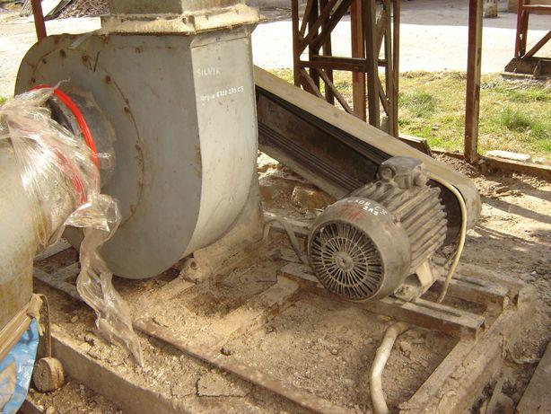 Wentylator instalacji odpylającej 15kW