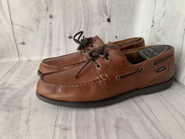 Loake доферы топсайдеры туфли броги размер 43,5