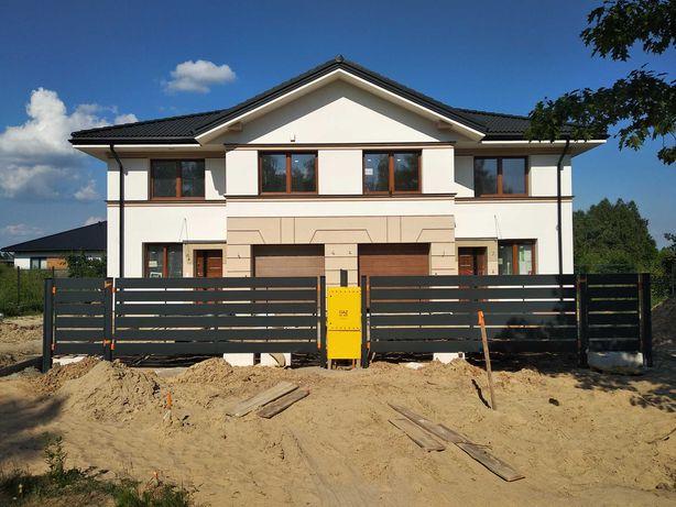 Sprzedam nowy dom w zabudowie bliźniaczej wraz z działką