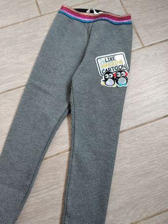 Лосины штаны утепленные
