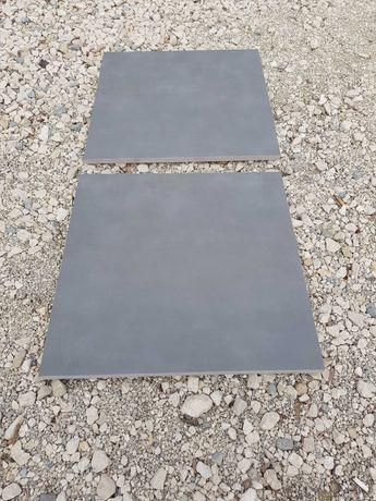 Płytki gresowe tarasowo chodnikowe 60x60 2cm grubość kolor antracyt