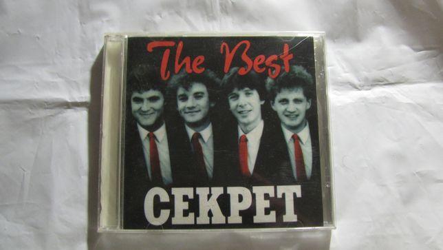 Группа Секрет The Best 1983-1996 CD-диск и другой рок