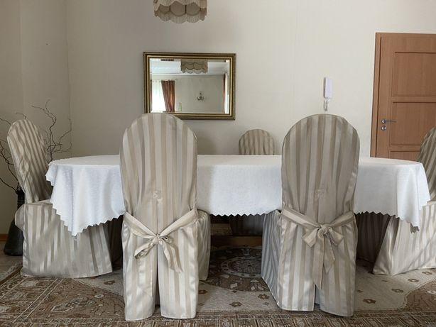 Stół z krzesłami 8 szt Swarzędz