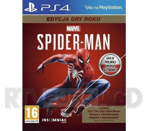 Marvel's Spider-Man - Edycja Gry Roku GOTY (Gra PS4) ?
