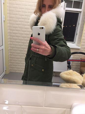 Зимняя Парка куртка с утеплителем Rinovich S-M