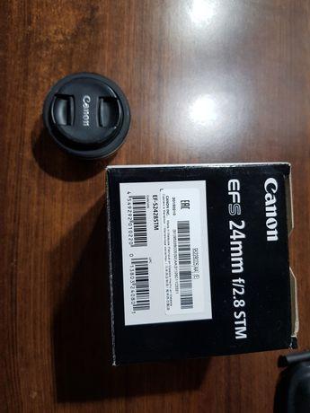 Obiektyw Canon EFS 24mm 2.8 STM