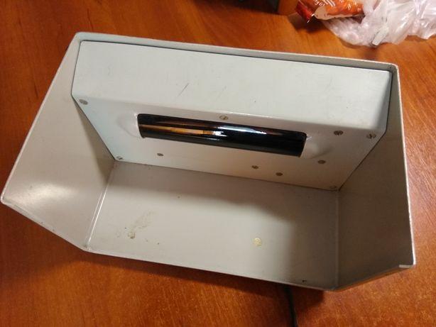Ультрафиолетовый детектор для валюты, денег, проверка на оригинал, му
