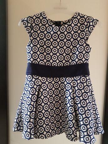 Sukienka r. 116 wizytowa elegancka