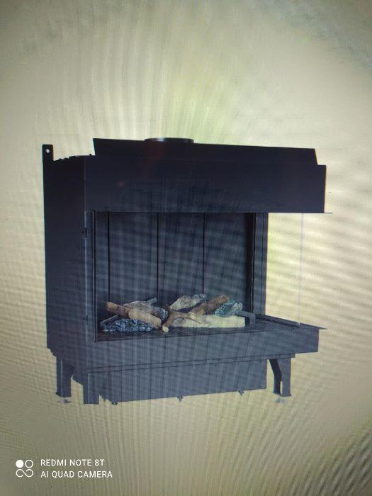 kominek gazowy LEO 70 prawy Mogilany - image 1