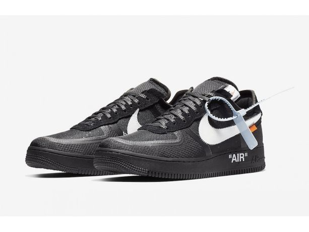 Кросівки Nike Air Force 1 Low Off-White Black White - AO4606-001