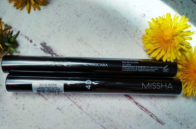 Туш для вій Тушь для ресниц Missha The Style 4D Mascara
