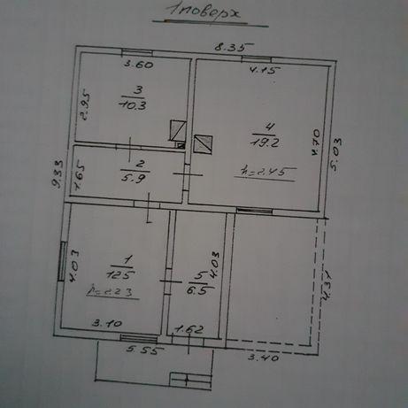 Продається будинок, центр Малехова, площа землі 15 сотиків