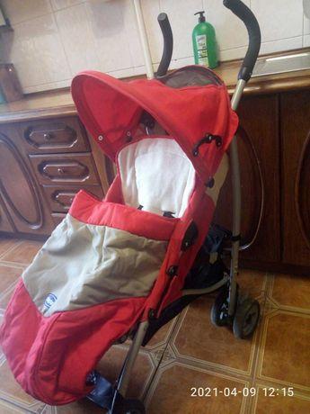 Прогулочная коляска Chicco Чикко, легкая 9 кг, 0-3 года