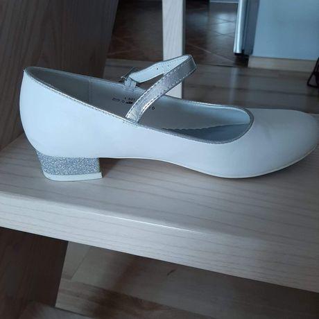 Buty białe dziewczęce