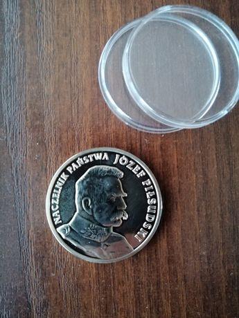 """Medal srebrny """"100 roczn.odzysk.niepodl."""""""