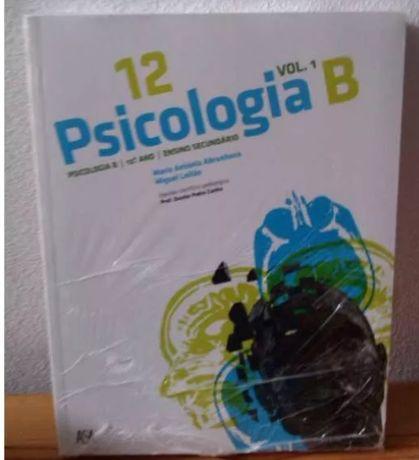 Livro Psicologia B 12º Ano NOVO c/portes Novos