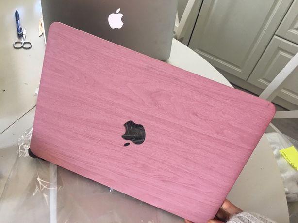 "Pink wood macbook Retina 13"" i Pro 13"" drewno różowe"