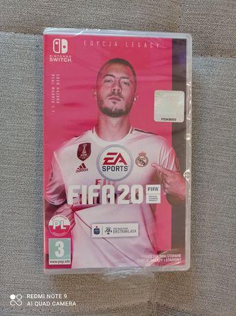 Nowa gra FIFA 20 Nintendo Switch. Folia