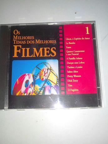3 CDs Os Melhores Temas dos Melhores Filmes