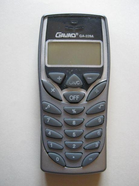калькулятор - телефон, калькулятор у вигляді телефону