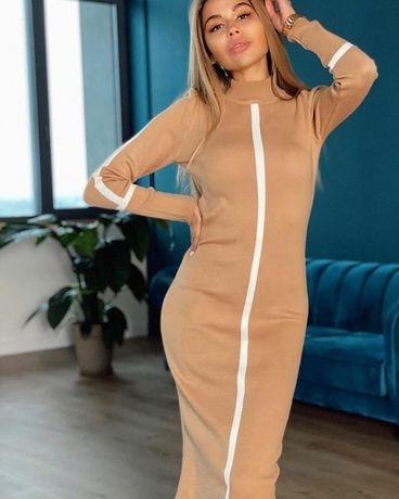 Силуэтное платье 2020