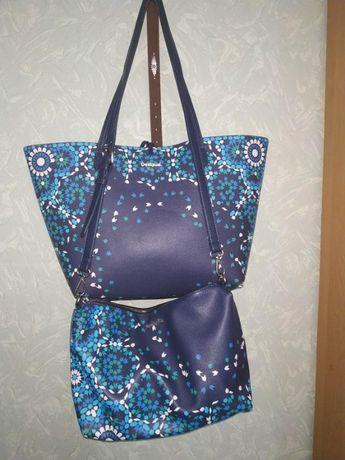 Очень крутая сумка Desigual 3в1, оригинал, Франция