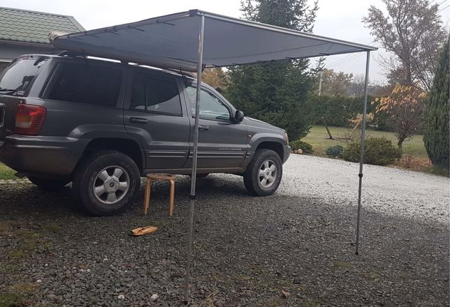 Markiza samochodowa 200cm x 250cm zadaszenie boczne namiot dachowy