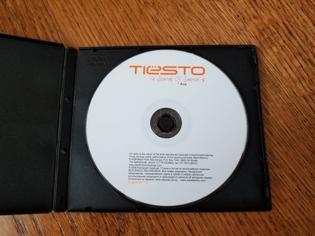 CD диск Tiesto In Search of Sunrise Asia