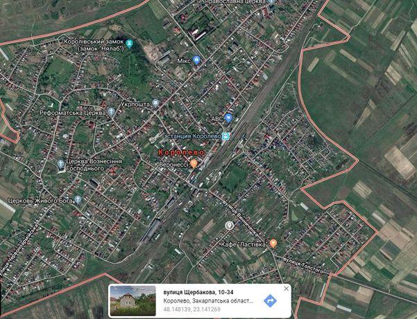 Земельна ділянка під забудову, смт. Королево