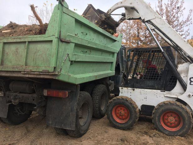 Вывоз мусора, щебень 10-20 20-40 камаз чернозём грунт подсыпка
